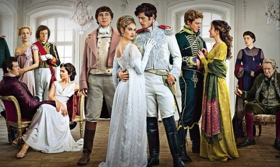 BBC TV War and Peace cast photo